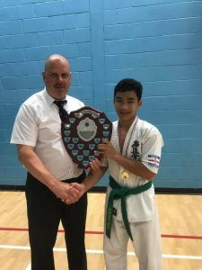 Bart with Shihan Andrew Turner