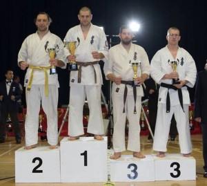 Tomasz Werczinski 2nd place, Alec Baines 3rd place